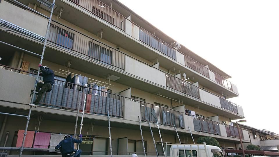 生野区 Y様邸外壁塗装工事
