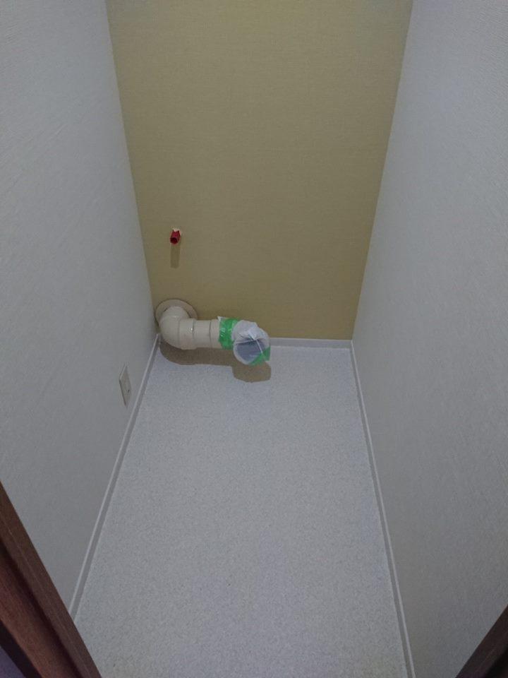 工事中 トイレ