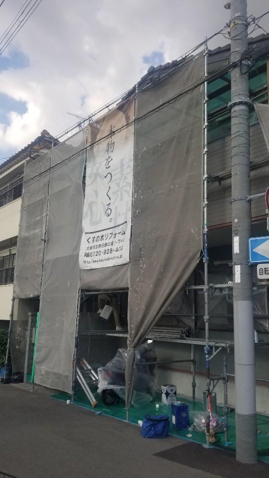 生野区K様 外壁塗装工事