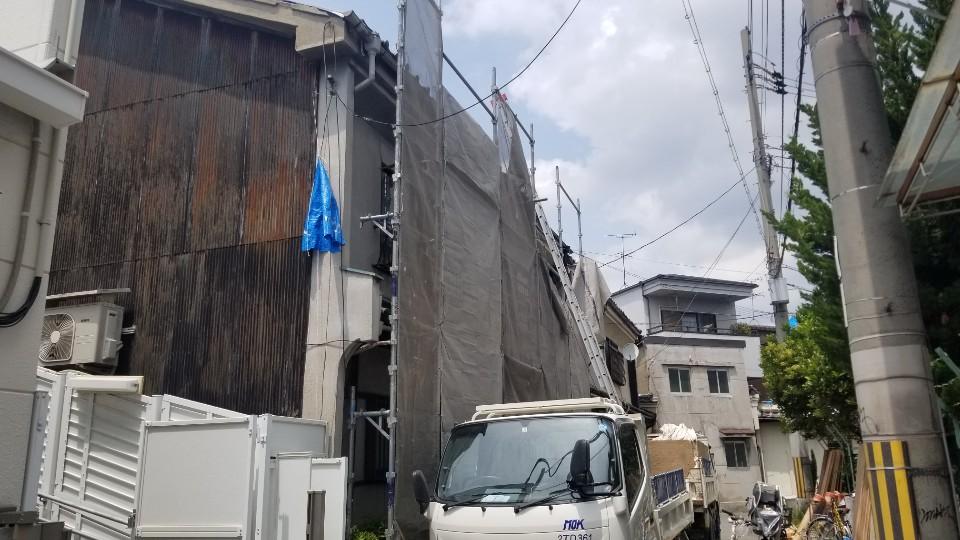 生野区T様 屋根改修工事